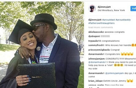 Jimmy Jatt's daughter graduate from college