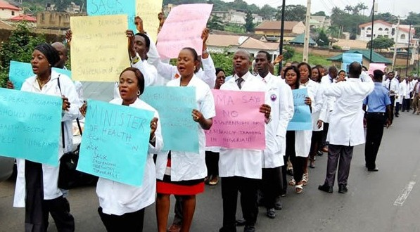 We won't back down- resident doctors