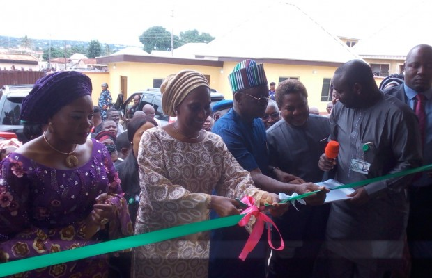 Wife of the vice president commissions projects in Benue