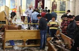 Egypt identifies church suicide bomber