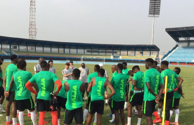Super Eagles Players Stage Protest Over Unpaid Wages