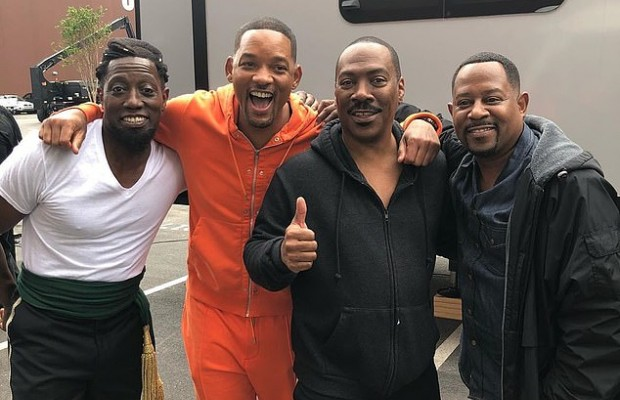 Will Smith, Eddie Murphy filming inside Tyler Perry's Studio