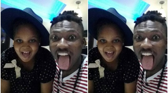 BBN Efe spotted with Bisola's daughter