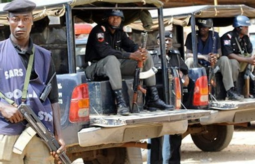 Police parade suspected armed robber