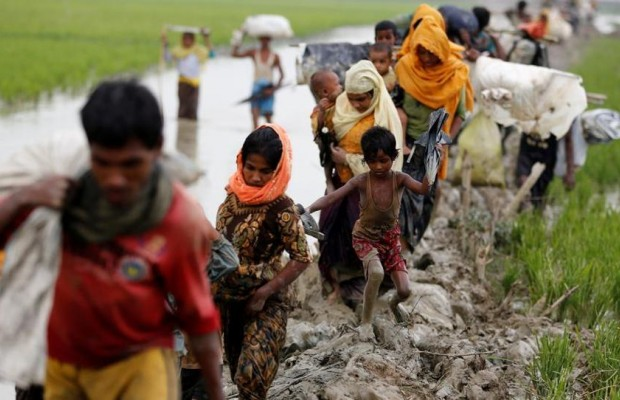 Over 90,000 people have escaped Myanmar violence