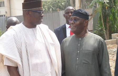 Atiku pays courtesy visit to Ekiti
