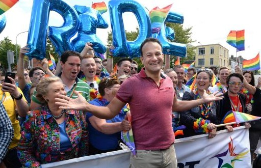 Irish prime minister cause controversies as he attends gay pride event
