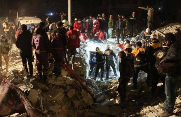 At least 23 killed in explosion in Syria's Idlib