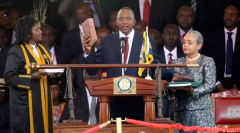 Kenyan to swear-in new president