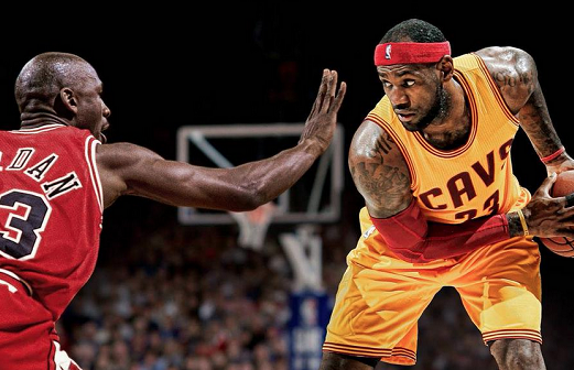 Lebron James breaks Jordan's record