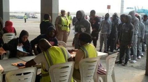 132 other Nigerian migrants return from Libya