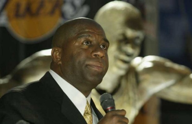 Magic Johnson returns to LA Lakers