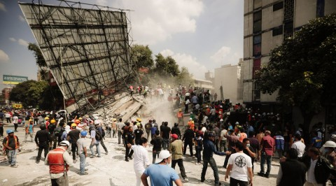 Over 217 confirmed dead in Mexican quake