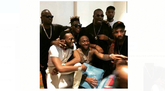 Mo'Hits reunite at Davido's #30billionconcert