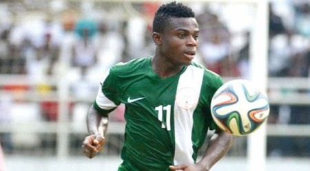 Moses Simon rushed to hospital