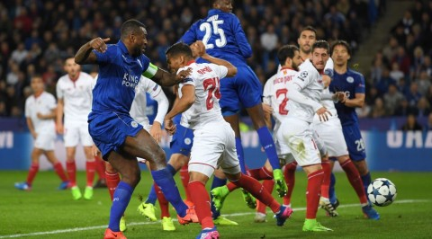 Ndidi sparkles as Leicester reach UCL Q/finals