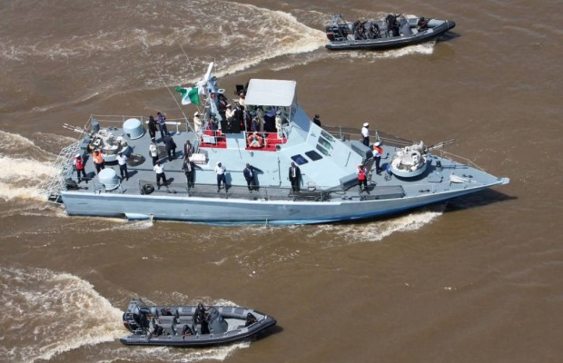 Navy express determination to foil oil theft