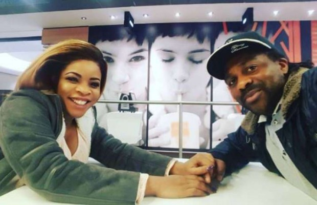 Image result for laura Ikeji And Husband