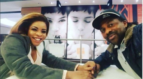 Laura Ikeji welcomes first son