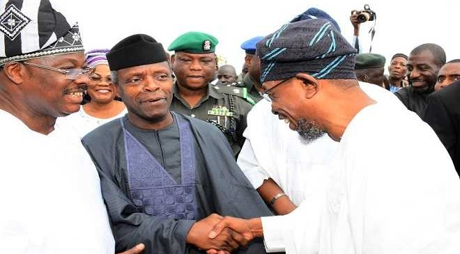 Osinbajo, others visit Osun governor