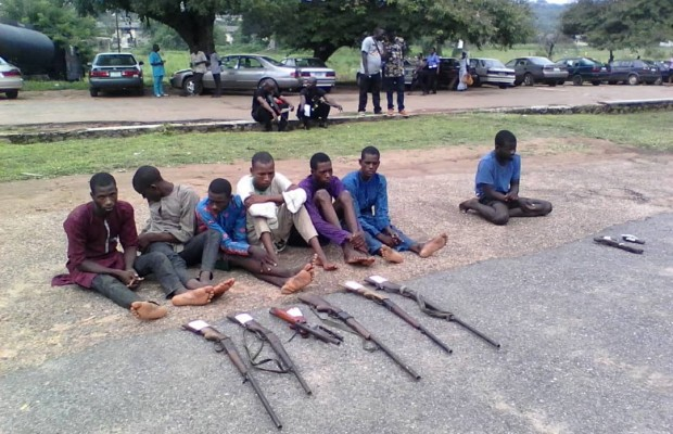 Security: Oyo Police parade suspects
