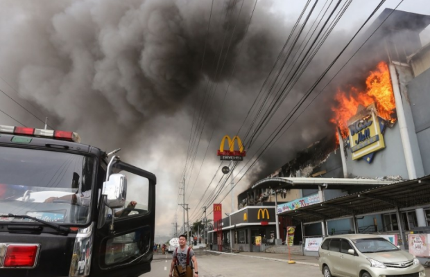 37 employees killed as fire engulfed Philippines mall