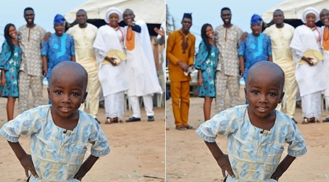 Terry G sponsors little boy in viral photobombed picture primary education