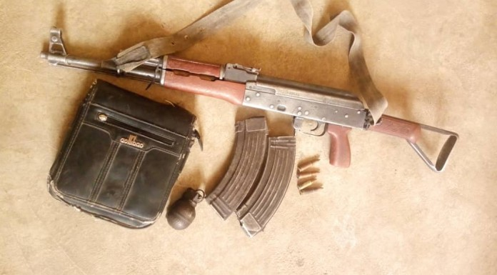 Police Encountered With Kidnappers Gun Down Three and  Recovered Ak-47 Assault Rifle