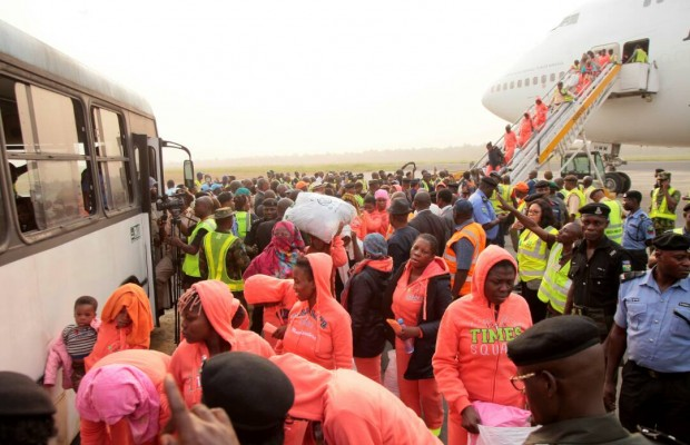 491 Libyan returnees received at Port Harcourt airport