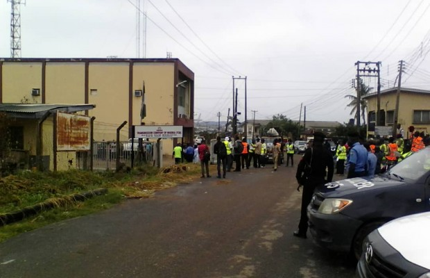 Ijaw youths protest marginliasation