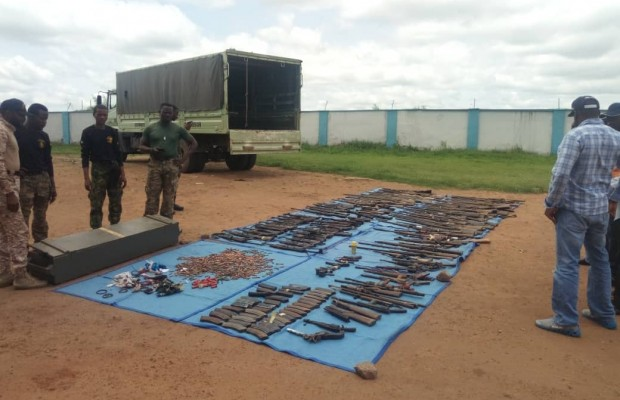Over 3,569 ammunition recovered from bandits