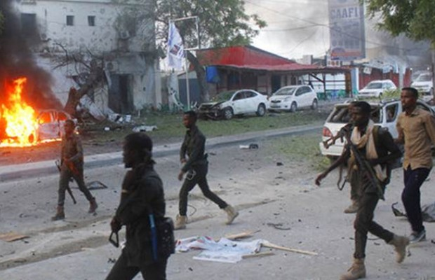 7 killed in roadside bomb in Mogadishu