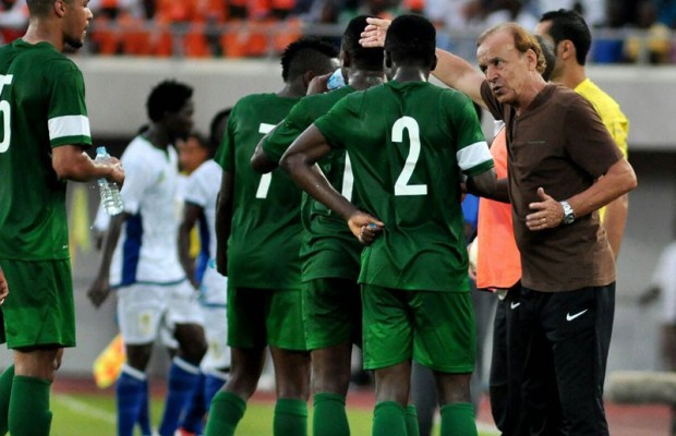 Rohr drills Eagles defence