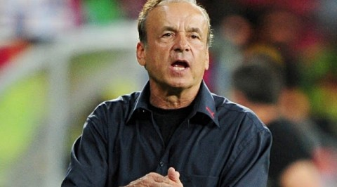Don't call Eagles world cup favourites- Rohr