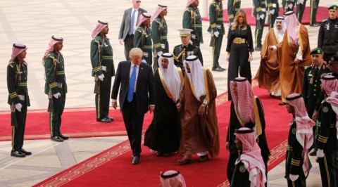 Trump visits Saudi, begins foreign trip
