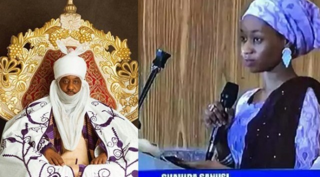 Sanusi supports daughter for slapping a man