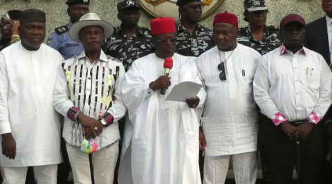 Southeast Governors Propose Ebube Agu Regional Security Outfit