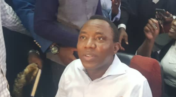 DSS insists on Sowore's detention