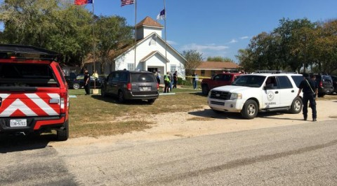 Gunman storms Texas church, kills 26