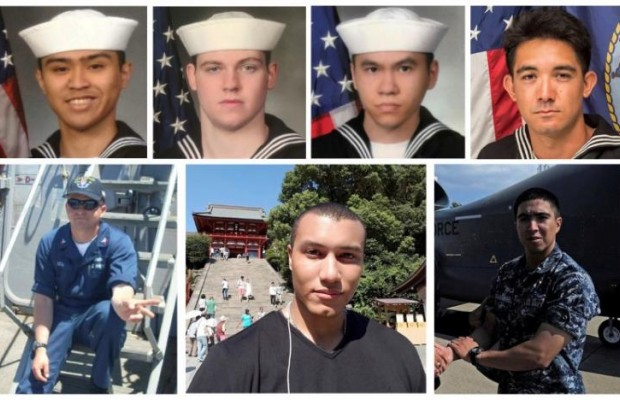 7 U.S missing sailor found dead