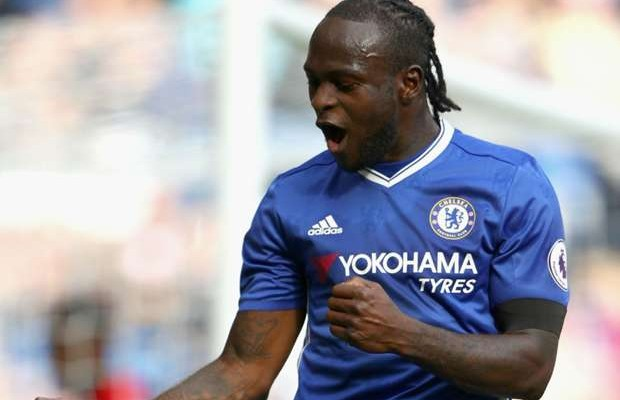 Moses resumes training with Chelsea