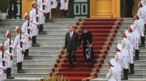 Vietnam President appears in public after more than a month leave