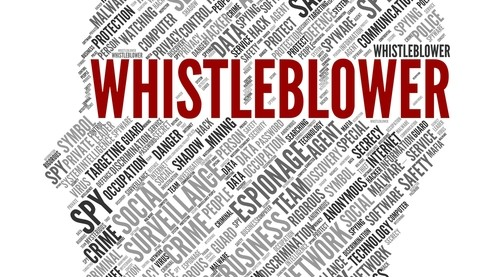 Whistle-blowing policy: protection for whistle blowers
