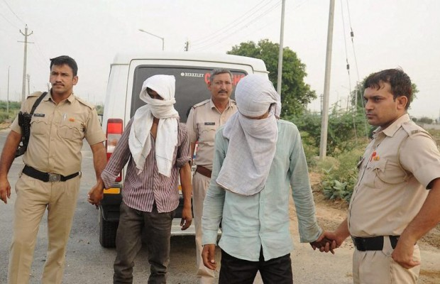 Police arrest 2 men over rape in India