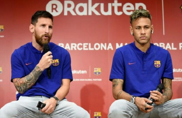 Lionel Messi posts heartfelt Instagram farewell as Neymar nears £198m PSG move