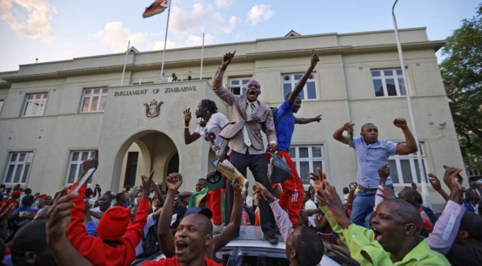 So much joy on the street as Mugabe resigns
