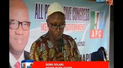 Ikenne LG APC members hold rally for Dapo Abiodun