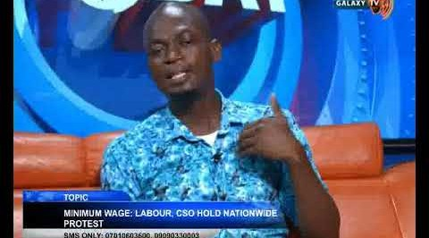 MINIMUM WAGE : LABOUR, CSO PROTEST NATIONWIDE