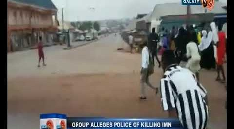 IMN Allerges Police of Killing a Dozen of it's Members