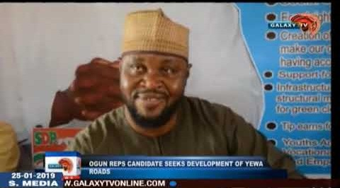 Ogun Reps Candidate Seeks Development Of Yewa Roads